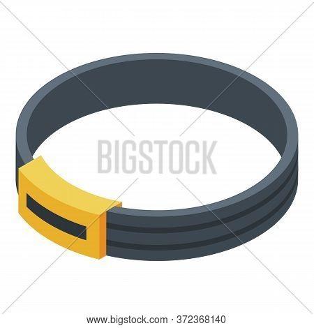Corgi Dog Belt Icon. Isometric Of Corgi Dog Belt Vector Icon For Web Design Isolated On White Backgr