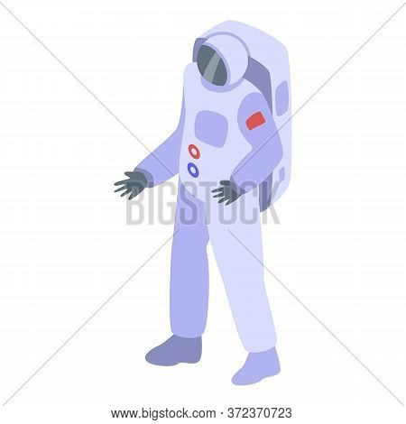 Astronaut Equipment Icon. Isometric Of Astronaut Equipment Vector Icon For Web Design Isolated On Wh