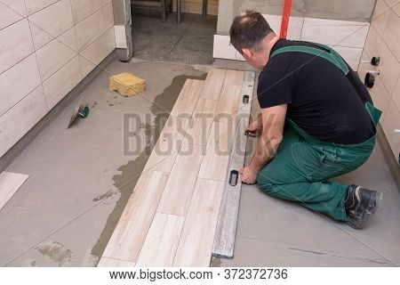 Spirit Level - A Device For Checking The Correctness Of Works Performed In Relation To The Level. A