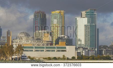 San Diego Convention Center And Hotels At The Oceanfront - San Diego, Usa - March 18, 2019