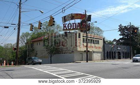 Former Building For Photo Development In Atlanta - Kodak - Atlanta, Georgia - April 22, 2016