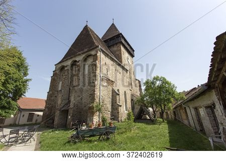 A Famous Fortified Church In Romania