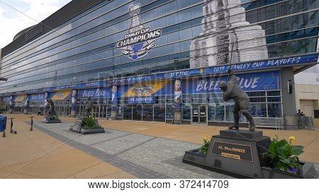 Enterprise Center St. Louis - St. Louis, Usa - June 19, 2019