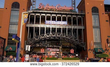 Bush Stadium In St. Louis - St. Louis, Usa - June 19, 2019