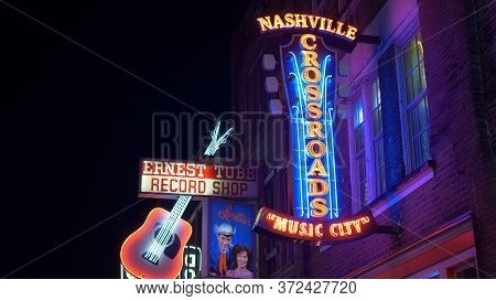 Nashville Crossroads At Broadway - Nashville, Usa - June 17, 2019