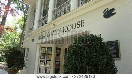 Famous Swan Coach House Museum And Restaurant In Atlanta - Atlanta, Georgia - April 22, 2016