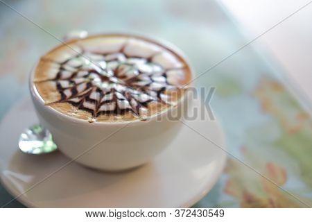 Hot Cappuccino Mocha Latte Coffee.