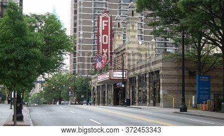 The Fox Theatre In Atlanta Midtown - Atlanta, Georgia - April 22, 2016