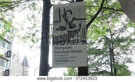 Margaret Mitchell House In Atlanta Midtown - Atlanta, Georgia - April 22, 2016