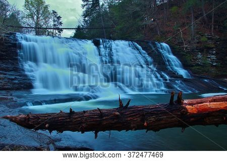 Cane Creek Falls In Fall Creek Falls State Park In Tennessee