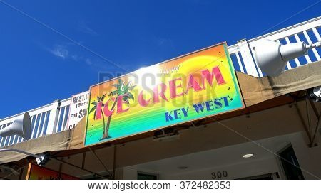 Ice Cream Key West Florida - Key West, Florida - April 12, 2016