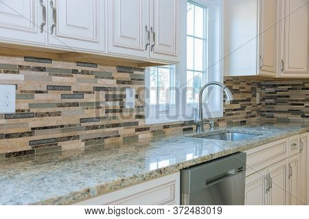 Beautiful Kitchen Sinks In New Home With Cabinets In New Luxury Furniture The Drawer In Cabinet
