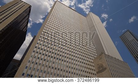 The Prudential Building In Chicago - Chicago, Usa - June 11, 2019