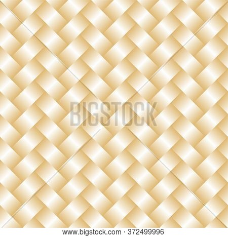 Vector Handcraft Weave Seamless Pattertn. Simple Geometric Handcraft Texture Weave Texture Gradient