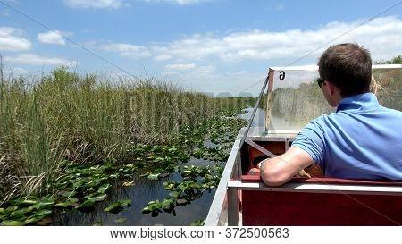 Thrilling Airboat Ride Through The Everglades - Miami, Florida April 11, 2016