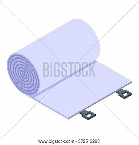 Elastic Bandage Icon. Isometric Of Elastic Bandage Vector Icon For Web Design Isolated On White Back
