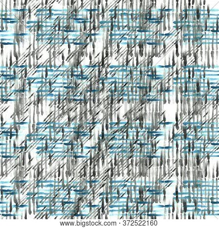 Abstract Brush Line Seamless Check Pattern Design, Colorful Check, Fashion Print Pattern, Abstract C