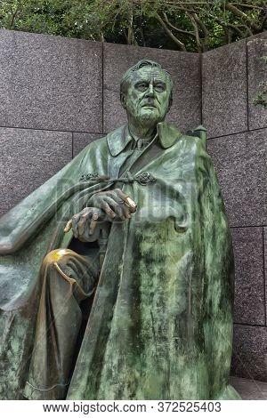 22,06,2016, Washington Dc, Usa, The Franklin Delano Roosevelt Memorial Is A Presidential Memorial In