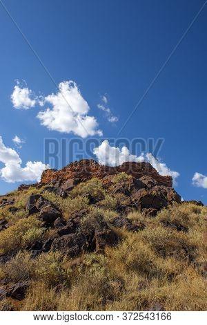 Box Canyon Ruins, Wupatki National Monument Near Flagstaff, Arizona, Usa