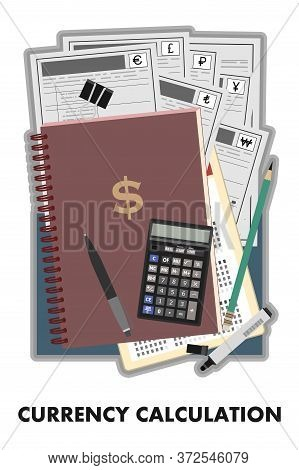 Currency Calculation. Consulting On International Operations. Search For Optimal Business Solutions