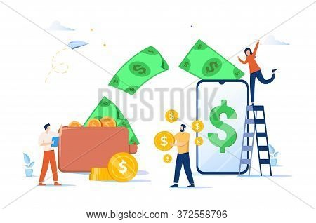 Financial Transactions, Non-cash Payment Transactions. Pos-terminal And Payment Systems, Currency, C