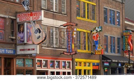 Nashville Crossroads Music City On Broadway - Nashville, Usa - June 17, 2019