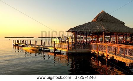 Beautiful Bay On Islamorada Florida- Islamorada, Florida - April 12, 2016