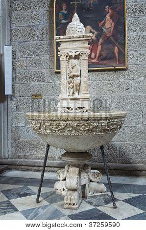 Cathedral of Viterbo. Lazio. Italy.
