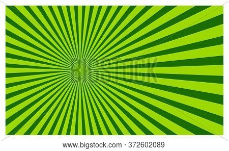 Vector Spiral Background, Green Color Spiral Isolated For Background, Spiral Background Vector Desig