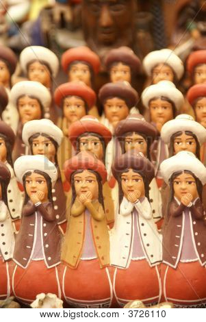 Handmade Indian Dolls