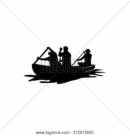 Sailing, Cruise, Ship, Sailing Boat  Logo Template Vector Icon Illustration Design