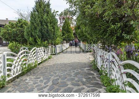 Sofia, Bulgaria - May 24, 2014: Orthodox Saint Mina (menas) Monastery, Sofia City Region, Bulgaria