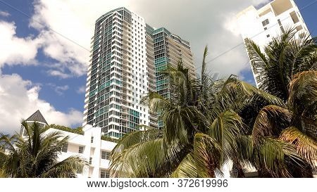 Hotels And Condos In Miami Beach - Miami, Florida April 10, 2016