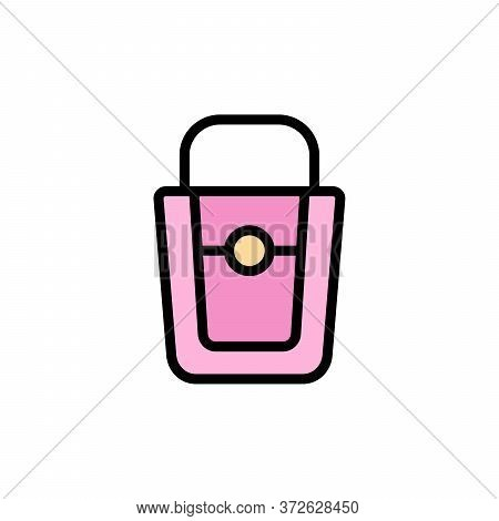 Fashion Bag 2 Colored Line Icon. Simple Colored Element Illustration. Fashion Bag Concept Outline Sy