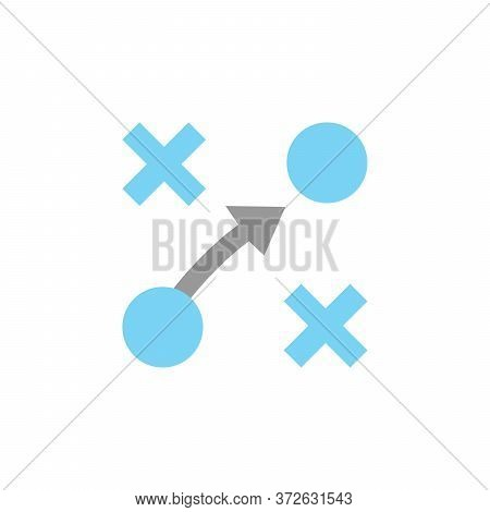 Plan Colored Icon. Simple Colored Element Illustration. Plan Concept Symbol Design From Business Str