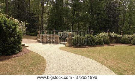 The Garden Around Swan House Atlanta - Atlanta, Georgia - April 21, 2016