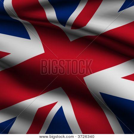 Rendered British Square Flag