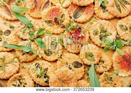 Cookies With Herbs.
