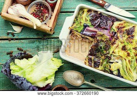 French Vegetable Gratin.