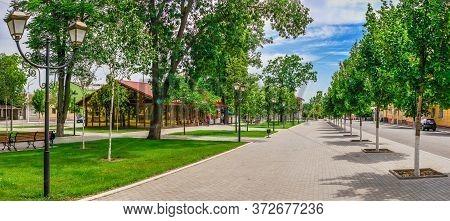 Suvorov Avenue In Izmail, Ukraine