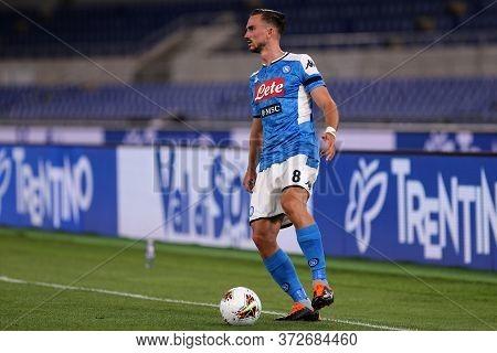 Roma. Italy. 17th June 2020. Italian Cup Final. Ssc Napoli Vs Juventus Fc .  Fabian Ruiz Of Ssc Napo