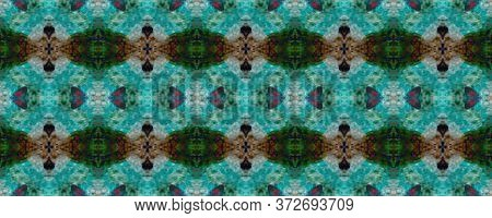 Original Tile Template.  Majolica Tiles Print. Winter Geo Pattern. Dark Seamless Watercolor Majolica
