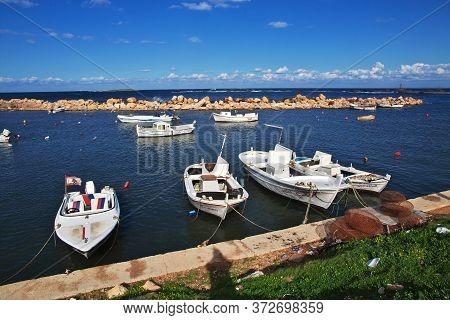 Tripoli, Lebanon - 02 Jan 2018. The Seafront In Tripoli City, Lebanon