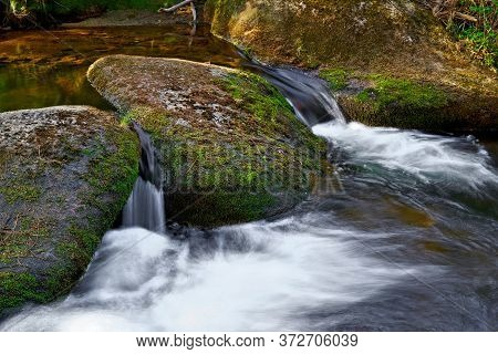 The Idyllic River Kalte Bode Near Schierke In The Harz National Park In Germany