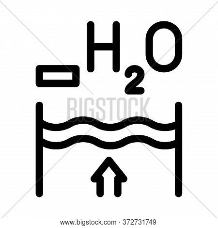 Juice Concentrate Icon Vector. Juice Concentrate Sign. Isolated Contour Symbol Illustration