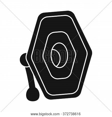 Isolated Object Of Projector And Lamp Logo. Web Element Of Projector And Photo Stock Symbol For Web.