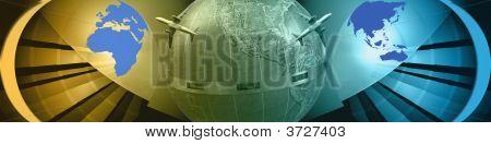 Banner World Wide Movement