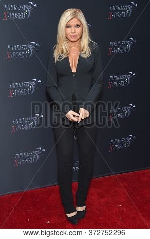 LOS ANGELES - JUN 15: Donna D'Errico arrives for 'Paparazzi X-Posed' Red Carpet Premiere on June 15, 2020 in Studio City, CA