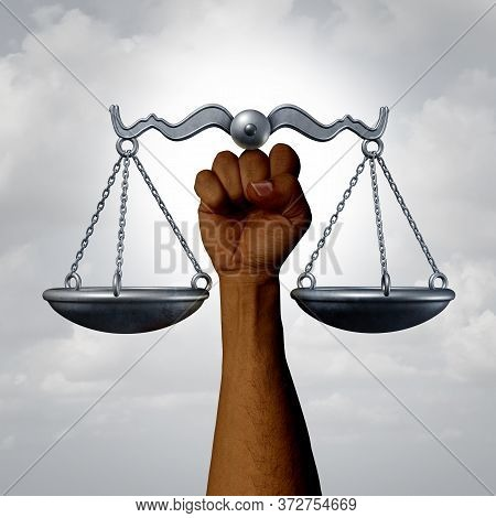 Social Justice And Equal Rights Awareness Concept As A Civil Liberties And Racial Equality Laws And