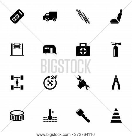 Car Repair Icon - Expand To Any Size - Change To Any Colour. Perfect Flat Vector Contains Such Icons